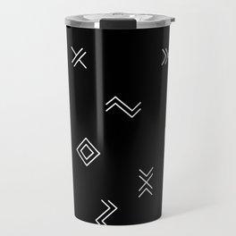 Lost Simbols Travel Mug