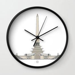 Obelisco de Altamira Wall Clock