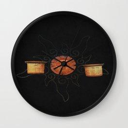 """see the sun"" Wall Clock"