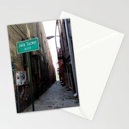 Jack Tucker Alley Memphis, TN Stationery Cards