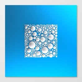 Circle Square Canvas Print