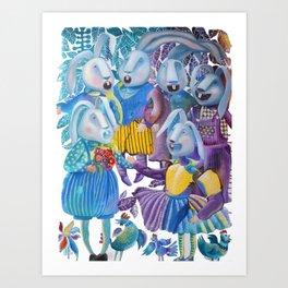 A Cappella Art Print