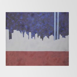 A Tribute In Light Throw Blanket