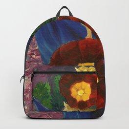 Hollyhocks Backpack