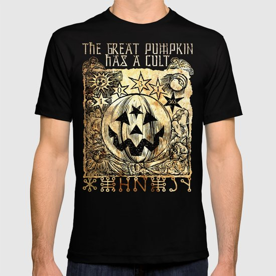 Cult of the Great Pumpkin: Sun, Moon and Angels T-shirt