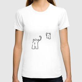 pair of elephants say goodbye T-shirt