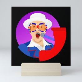 Elton Mini Art Print