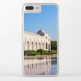 Sultan Qaboos Grand Mosque Clear iPhone Case