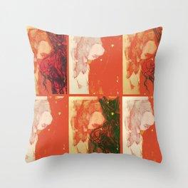 TedWarhol No.3 Throw Pillow