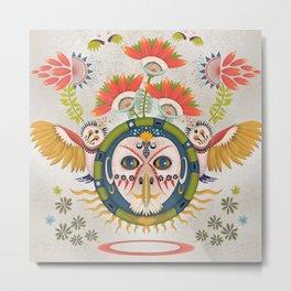 Inca Owl Metal Print