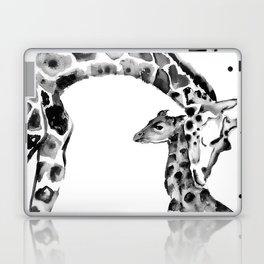 Black and white giraffes Laptop & iPad Skin