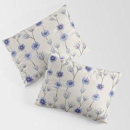 Winter Line up of Petals Pillow Sham