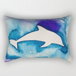 Dolphin Rectangular Pillow