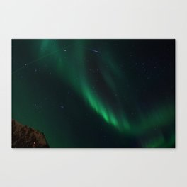 Night-Time Action in the Northen Hemisphere Canvas Print