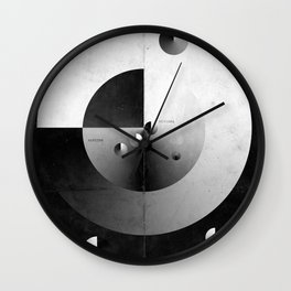 Southwest of Orion Wall Clock
