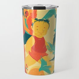 And A Little Girl Who Only Wished To Fly Travel Mug