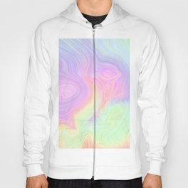 Rainbow Strata Texture 01 Hoody