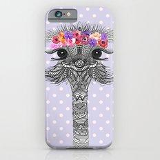 OSTRICH - FLOWER GIRL II Slim Case iPhone 6