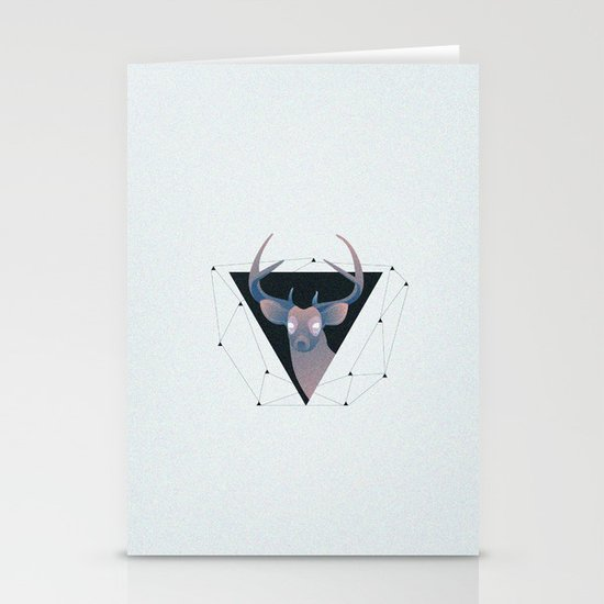 Deer Hipster Stationery Cards