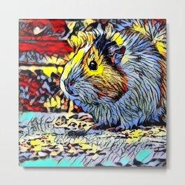 Color Kick - guina pig 2 Metal Print