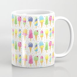 ice cream pattern art Coffee Mug