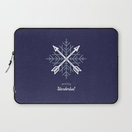 Winter Wanderlust (blue) Laptop Sleeve