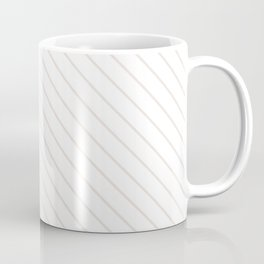 Bridal Blush Stripe Coffee Mug