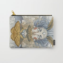 Moth Woman Carry-All Pouch