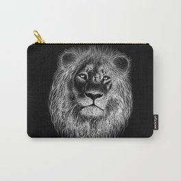 Lion Face Sketch Carry-All Pouch