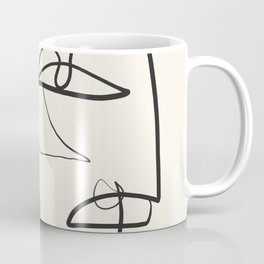 Abstract line art 12 Coffee Mug