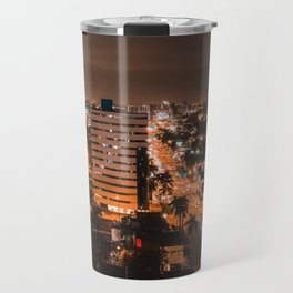 Biscayne Night View Travel Mug