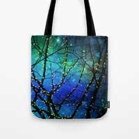 twilight Tote Bags featuring twilight by Sylvia Cook Photography