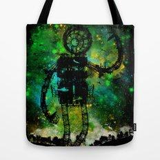 Mad Robot Tote Bag