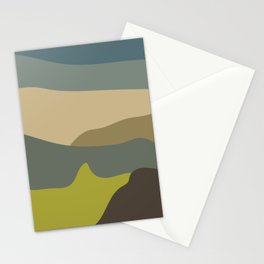 Muddy Mountain Stationery Cards