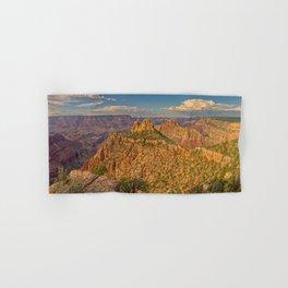 Panorama of the Sinking Ship and Coronado Butte at Grand Canyon Hand & Bath Towel