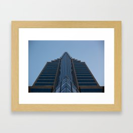 Bank of the West Tower in Sacramento, CA Framed Art Print