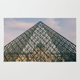 The Louvre, Paris, France Rug
