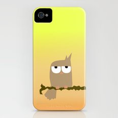 owl on a tree iPhone (4, 4s) Slim Case