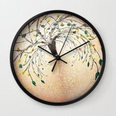 Birth of a Tree Wall Clock