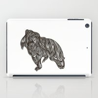 beast iPad Cases featuring beast by Duncan Stevens