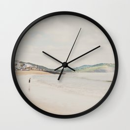 between the showers ... Wall Clock