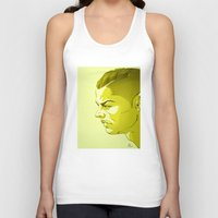 ronaldo Tank Tops featuring Cristiano Ronaldo by nachodraws