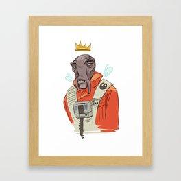 Born to Ill Framed Art Print