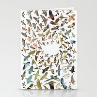 Stationery Cards featuring Birds by Ben Giles