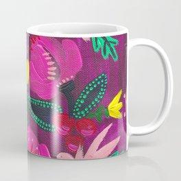 Magenta Blooms Coffee Mug