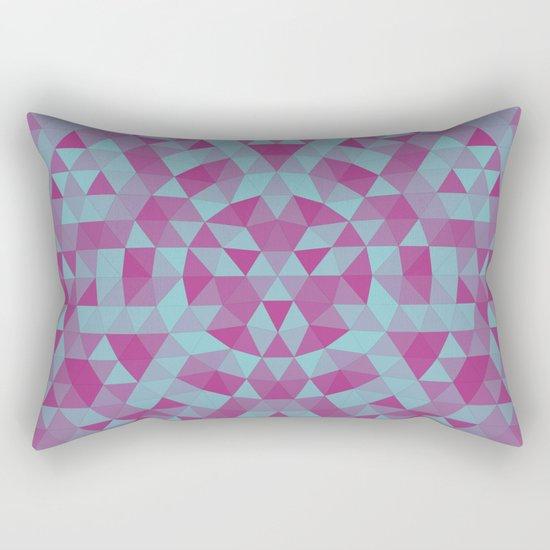 Triangle mandala 2 Rectangular Pillow