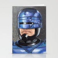 robocop Stationery Cards featuring Robocop by Luis Tinoco