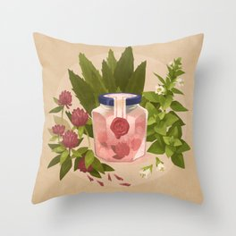 Love & Protection Throw Pillow