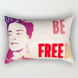 Be FREEda Rectangular Pillow