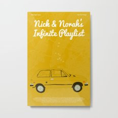 Nick & Norah's Infinite Playlist Metal Print